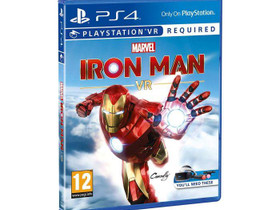 Marvel's Iron Man VR PS4 Uusi, Pelikonsolit ja pelaaminen, Viihde-elektroniikka, Lahti, Tori.fi