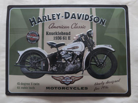 Harley Davidson peltikyltti, Muu keräily, Keräily, Tampere, Tori.fi