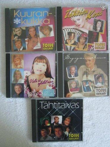 Toiveiskelmät -viisi cd-kokoelmaa, Imatra/posti