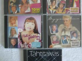 Toiveiskelmät -viisi cd-kokoelmaa, Imatra/posti, Musiikki CD, DVD ja äänitteet, Musiikki ja soittimet, Imatra, Tori.fi