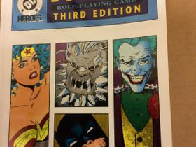 DC Heroes Third Edition roolipeli / RPG, Pelit ja muut harrastukset, Jyväskylä, Tori.fi