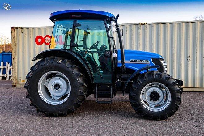 Solis 90 väkivahva 4WD traktori