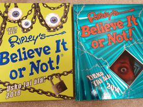 Believe or not! -kirjat 2kpl, Muut kirjat ja lehdet, Kirjat ja lehdet, Vaasa, Tori.fi