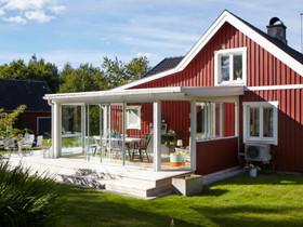 Lasiterassi Pulpetti mallisella katolla, Muu piha ja puutarha, Piha ja puutarha, Helsinki, Tori.fi