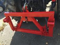 3-Piste/Euro adapteri traktoriin