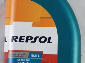 REPSOL Elite 5051 TDI 5W/40, 1 Litra, Mopoauton varaosat ja tarvikkeet, Mototarvikkeet ja varaosat, Naantali, Tori.fi
