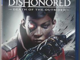 Dishonored : Death of The Outsider PS4, Pelikonsolit ja pelaaminen, Viihde-elektroniikka, Jyväskylä, Tori.fi