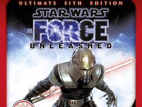Star Wars Force Unleashed - The Ultimate Sith Edit, Pelikonsolit ja pelaaminen, Viihde-elektroniikka, Lahti, Tori.fi