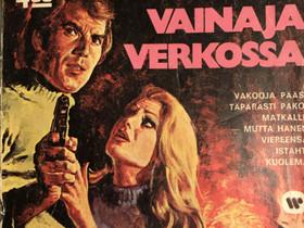 Agentti-Korkeajännitys N:o 12 Joulukuu 1975, Sarjakuvat, Kirjat ja lehdet, Oulu, Tori.fi