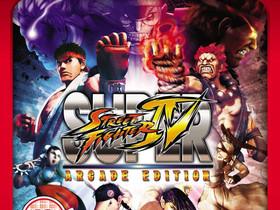 Super Street Fighter IV Arcade Edition Essentials, Pelikonsolit ja pelaaminen, Viihde-elektroniikka, Lahti, Tori.fi