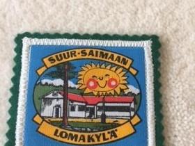 Suur-Saimaan lomakylä kangasmerkki / hihamerkki, Muu keräily, Keräily, Keuruu, Tori.fi
