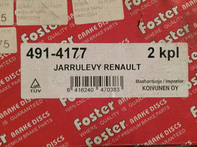 Renault Master Etujarrulevyt 90-95, Autovaraosat, Auton varaosat ja tarvikkeet, Pori, Tori.fi