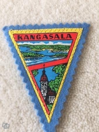 Kangasala kangasmerkki / hihamerkki