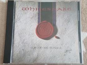 Whitesnake - Slip Of The Tongue CD, Musiikki CD, DVD ja äänitteet, Musiikki ja soittimet, Tampere, Tori.fi