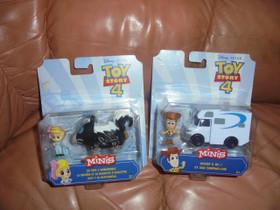 Disney Toy Strory hahmo x 2 kpl Woody ja Bo Peep, Lelut ja pelit, Lastentarvikkeet ja lelut, Kotka, Tori.fi