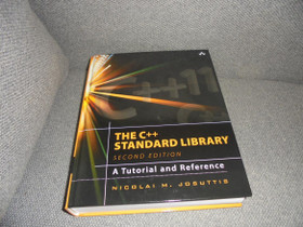 Josuttis Nicolai. THE C ++ Standard Library. KIRJA, Muu tietotekniikka, Tietokoneet ja lisälaitteet, Kotka, Tori.fi