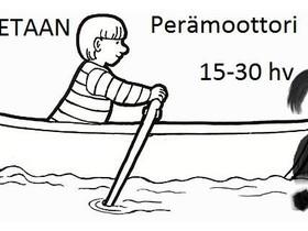 Perämoottori 15-30 hv 4-tahti, Perämoottorit, Venetarvikkeet ja veneily, Oulu, Tori.fi