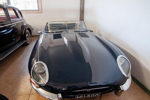 Avoauto Jaguar E Roadster vm. 1963
