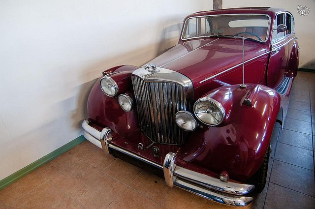Jaguar Mark 5 vm. 1950