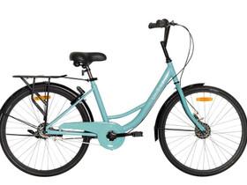 """Unibike 24"""" kaupunkipyörä täysikumirenkailla, Muut pyörät, Polkupyörät ja pyöräily, Harjavalta, Tori.fi"""