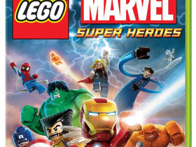 LEGO Marvel Super Heroes Xbox 360, Pelikonsolit ja pelaaminen, Viihde-elektroniikka, Lahti, Tori.fi