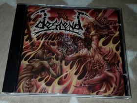 Descend JA All That Is Evil Split CD, Musiikki CD, DVD ja äänitteet, Musiikki ja soittimet, Tampere, Tori.fi