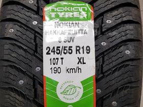 Nokian HKPL 8 SUV 245/55-19 nastat, Renkaat ja vanteet, Tampere, Tori.fi