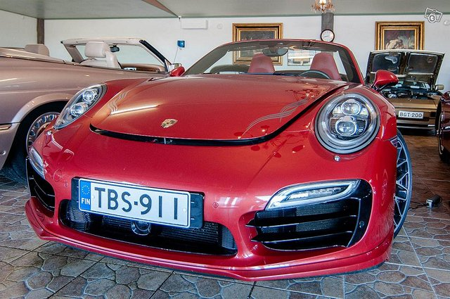 Porsche 911 Turbo S, vm.2014