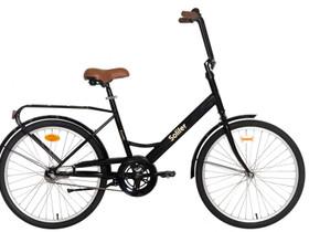 """Solifer Kombi 24"""" 1-v musta polkupyörä ruskeat var, Muut pyörät, Polkupyörät ja pyöräily, Harjavalta, Tori.fi"""