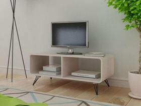 VidaXL TV-taso 90x39x38,5 cm Puu Harmaa 243008, Hyllyt ja säilytys, Sisustus ja huonekalut, Helsinki, Tori.fi