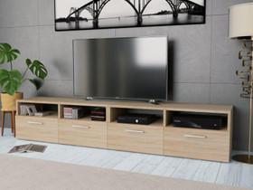 VidaXL TV-tasot 2 kpl lastulevy 95x35x36 cm275111, Hyllyt ja säilytys, Sisustus ja huonekalut, Helsinki, Tori.fi
