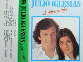 Julio Iglesias - De nina a mujer - C-kasetti, Musiikki CD, DVD ja äänitteet, Musiikki ja soittimet, Kangasala, Tori.fi