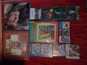 Lp+c kasetti+cd, Musiikki CD, DVD ja äänitteet, Musiikki ja soittimet, Tampere, Tori.fi