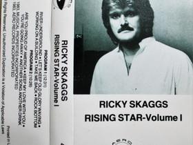 Ricky Skaggs - Rising Star Volume 1 - C-kasetti, Musiikki CD, DVD ja äänitteet, Musiikki ja soittimet, Kangasala, Tori.fi