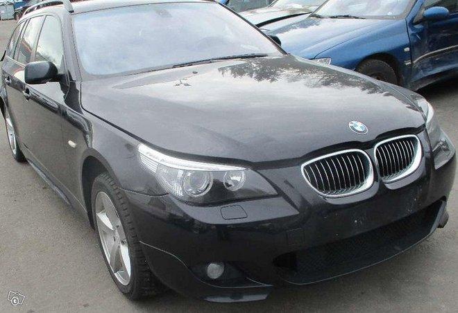 Purkuauto: BMW 530XD FARMARI -2006