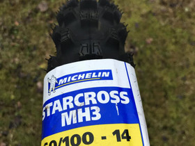 Michelin Starcross MH3 60/100-14, Renkaat, Mototarvikkeet ja varaosat, Alavus, Tori.fi