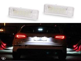Audi 6000K LED Kilpivalot ;Valkoinen valo, Autovaraosat, Auton varaosat ja tarvikkeet, Tuusula, Tori.fi