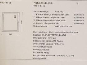 Lammin ikkuna, Ikkunat, ovet ja lattiat, Rakennustarvikkeet ja työkalut, Karkkila, Tori.fi