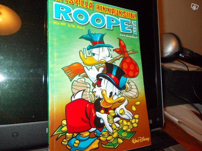 5 kpl Roope-Sedän taskulehteä: