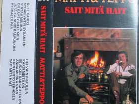 Matti & Teppo - Sait Mitä Hait - C-kasetti, Musiikki CD, DVD ja äänitteet, Musiikki ja soittimet, Kangasala, Tori.fi
