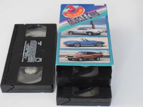 3 VHS-kasetin muskeliauto -kooste, Elokuvat, Kaarina, Tori.fi