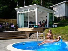 Erillinen lasiterassi 15m²-25², Muu piha ja puutarha, Piha ja puutarha, Helsinki, Tori.fi