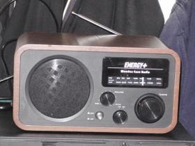 Energy+ : wooden case radio, Audio ja musiikkilaitteet, Viihde-elektroniikka, Juuka, Tori.fi