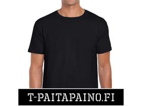 Musta Gildan Softstyle T-Paita - PAKETTITARJOUS, Liikkeille ja yrityksille, Rovaniemi, Tori.fi