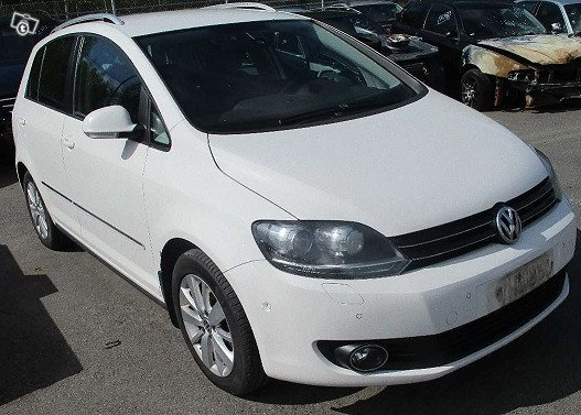 Purkuauto:VW GOLF PLUS 1,6TDI -2012