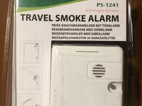 Travel Smoke Alarm - Anti Burglar Function, Muu tietotekniikka, Tietokoneet ja lisälaitteet, Helsinki, Tori.fi