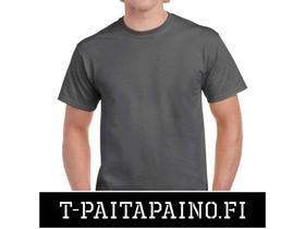 Harmaa Gildan Heavycotton T-Paita - PAKETTITARJOUS, Liikkeille ja yrityksille, Kajaani, Tori.fi