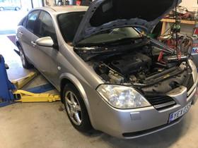Nissan p12 1.8 varaosia neljästä autosta, Autovaraosat, Auton varaosat ja tarvikkeet, Kaarina, Tori.fi