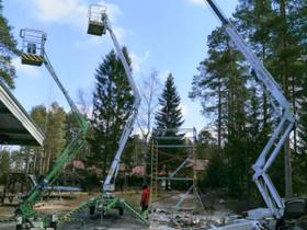 Henkilönostimia ja rakennustelineitä, Työkalut, tikkaat ja laitteet, Rakennustarvikkeet ja työkalut, Tornio, Tori.fi