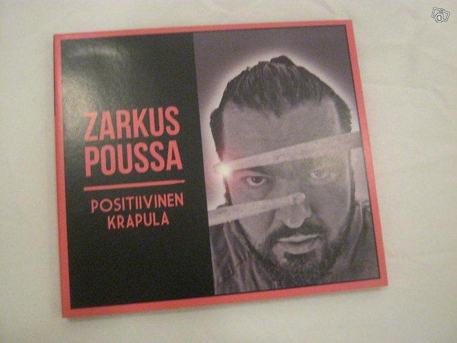Zarkus Poussa Positiivinen krapula cd Imatra/posti